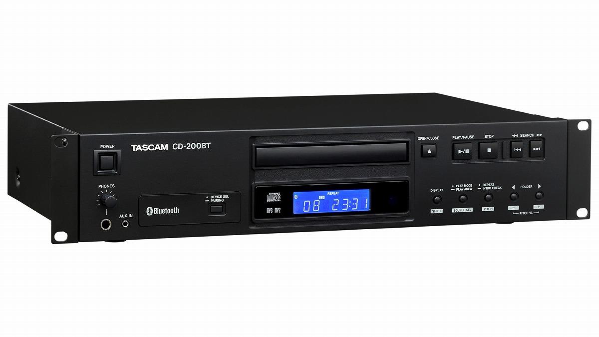 TASCAM / CD-200BT Bluetooth対応CDプレーヤー【お取り寄せ商品】