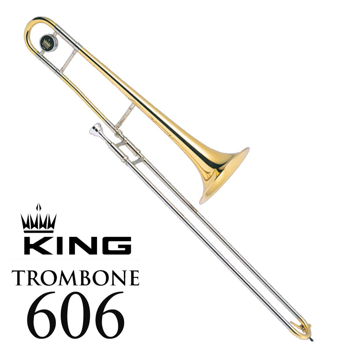 有名ブランド KING 606/ 606 キング 606 USA製 606 テナートロンボーン キング ラッカー仕上げ, FREE MART Wear houseフリーマート:4a3fa06e --- toscanofood.it