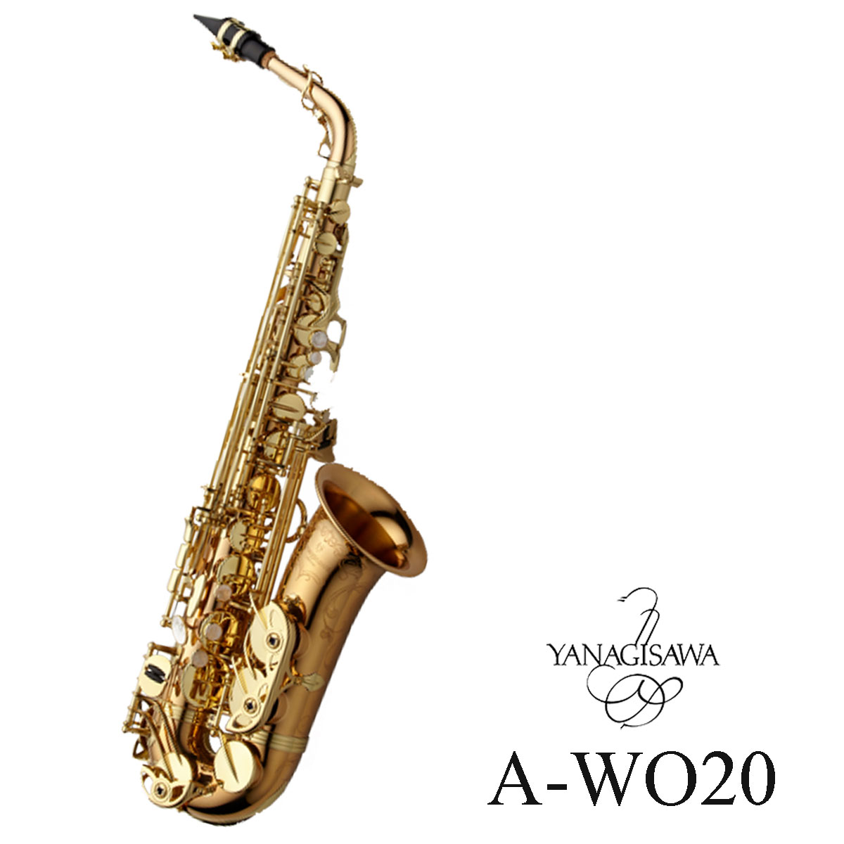Yanagisawa / A-WO20 ヤナギサワ アルトサックス ダブルオーシリーズ ブロンズブラス ラッカー仕上 ヘヴィーウェイト《予約注文/納期お問い合わせください》【5年保証】