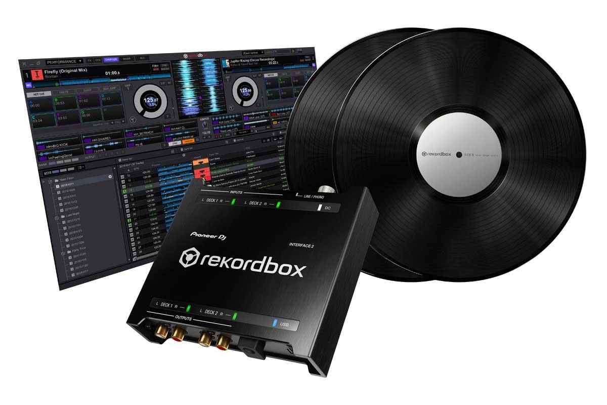Pioneer DJ パイオニア / INTERFACE 2 オーディオインターフェイス with rekordbox dj and dvs【お取り寄せ商品】【PNG】