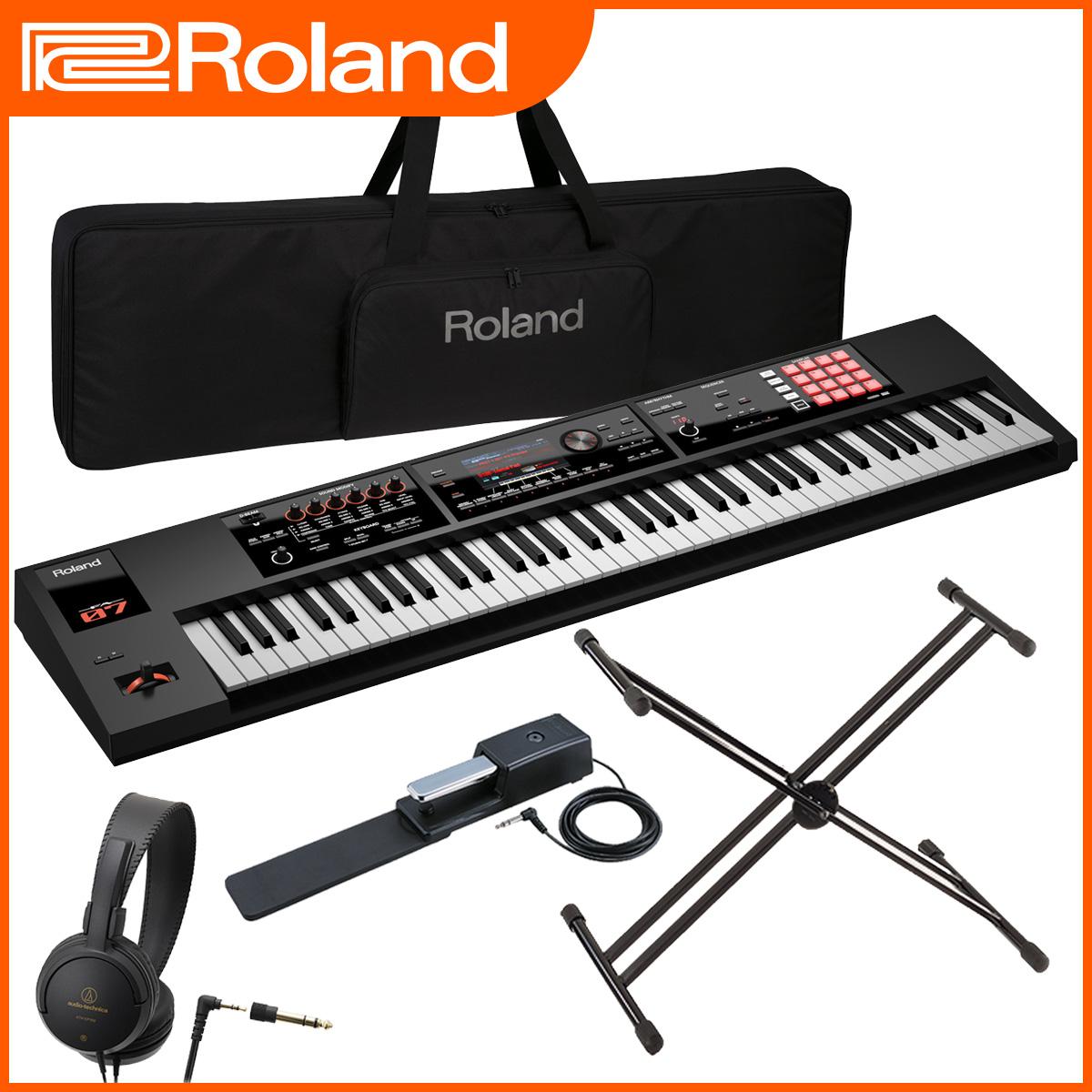 Roland ローランド / FA-07 Music Workstation 【スタートセット!】【オーバーレイシート付属】 76鍵盤 シンセサイザー 【YRK】《予約注文/10月下旬入荷予定》