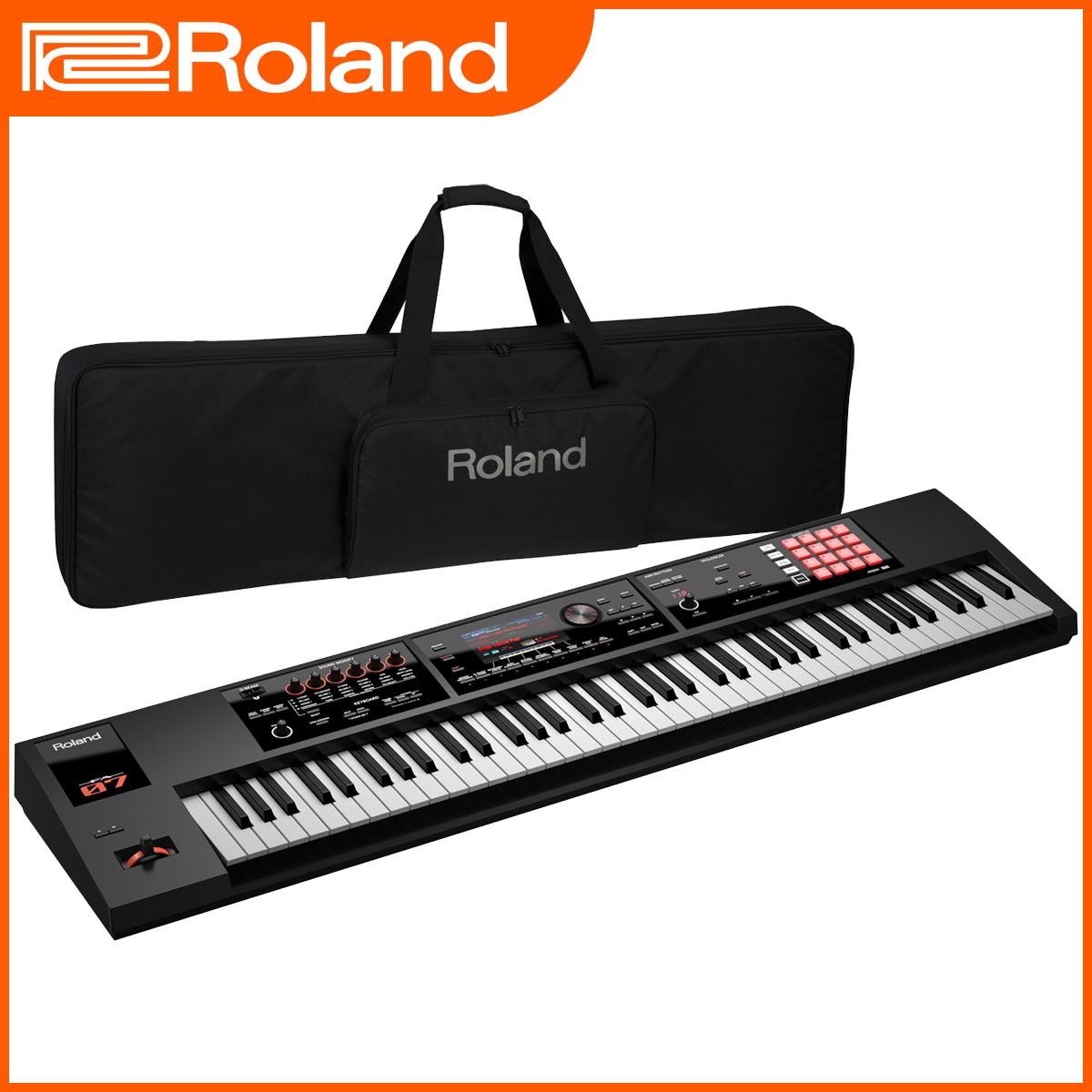 Roland ローランド / FA-07 Music Workstation 【ケースセット!】【オーバーレイシート付属】76鍵盤 シンセサイザー 【YRK】《予約注文/10月下旬入荷予定》