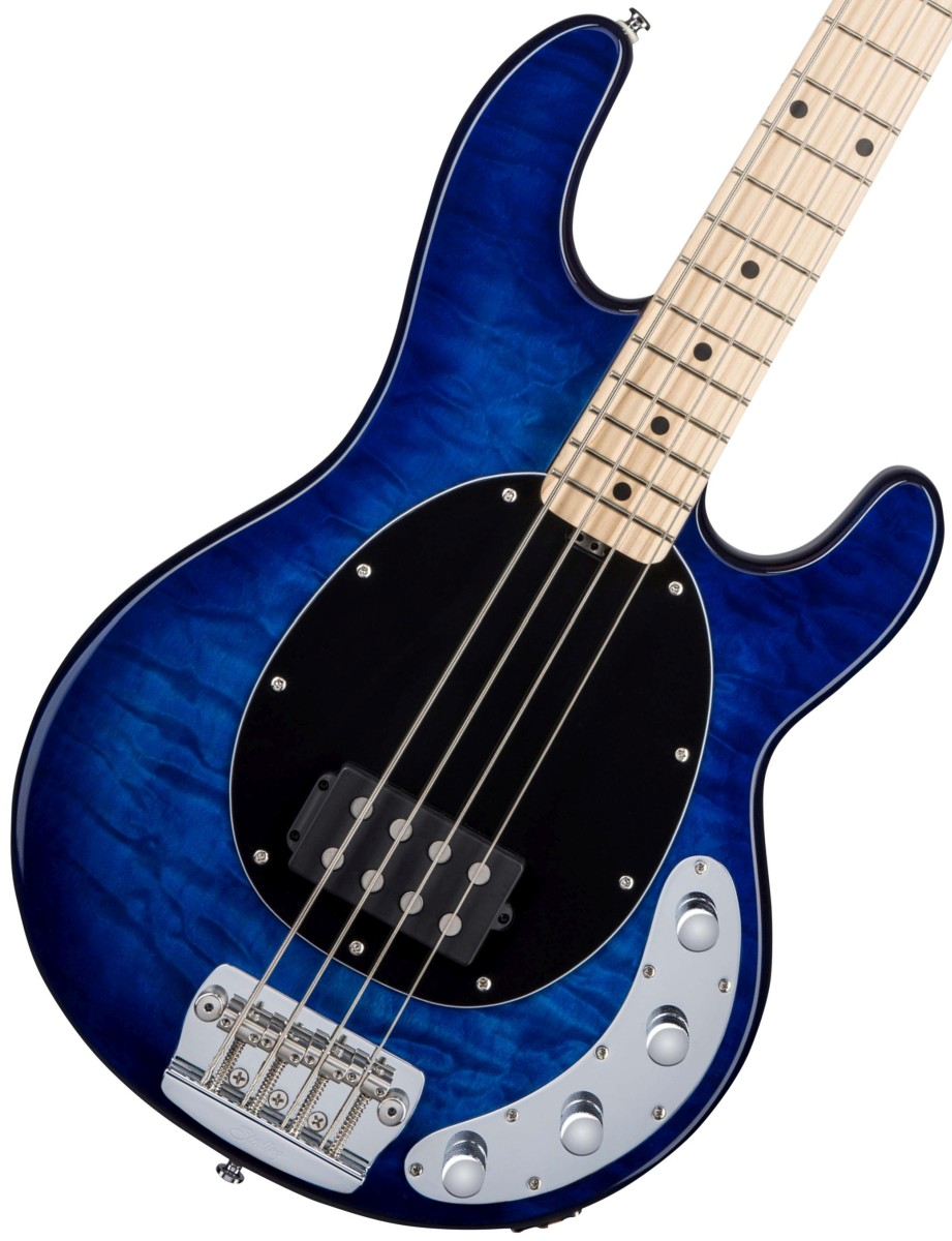Sterling by MUSICMAN / Ray34QM Neptune Blue スターリン