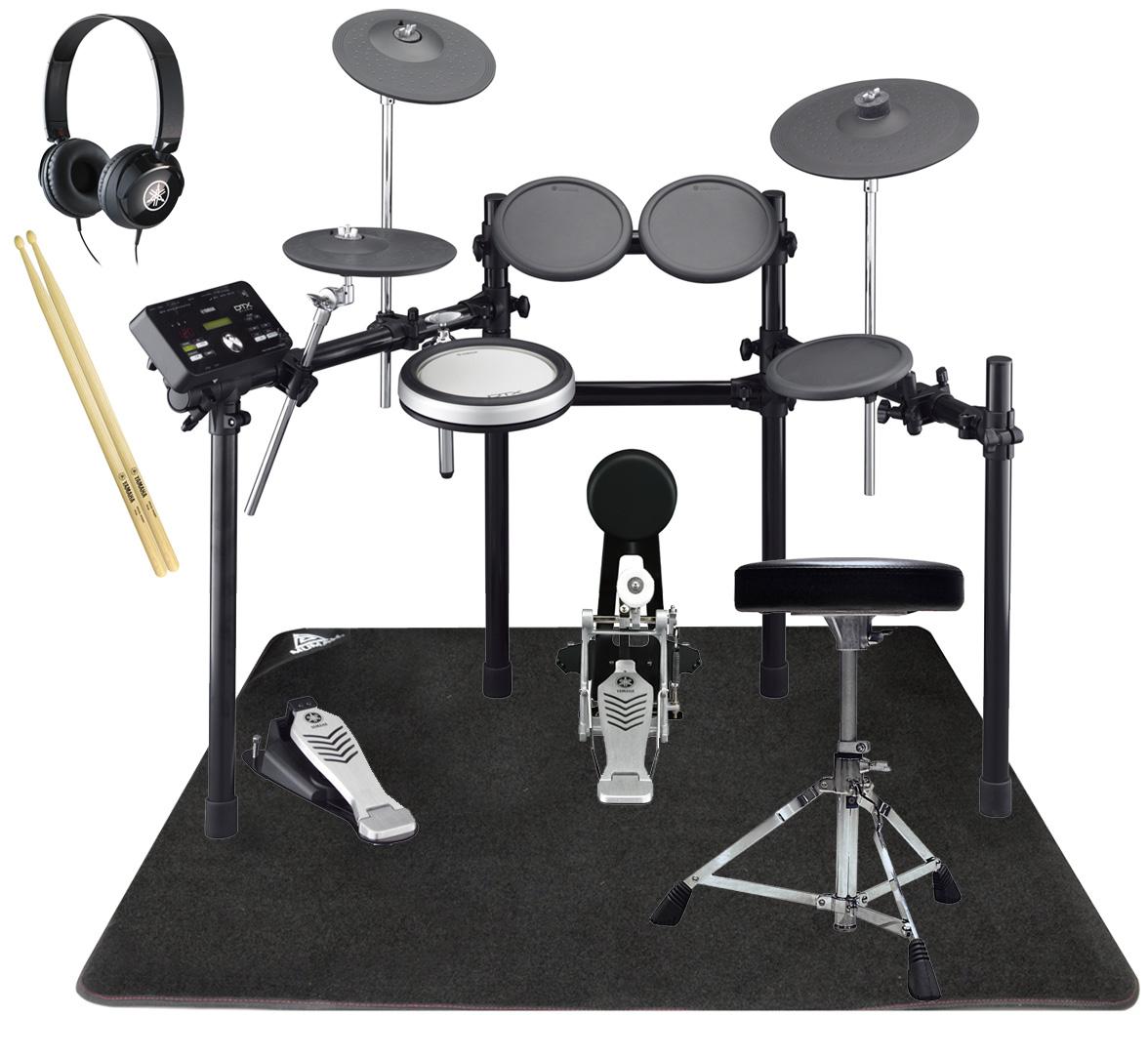 YAMAHA 電子ドラム DTX522KFS ドラムマットと純正ヘッドホン・スティックセット【YRK】