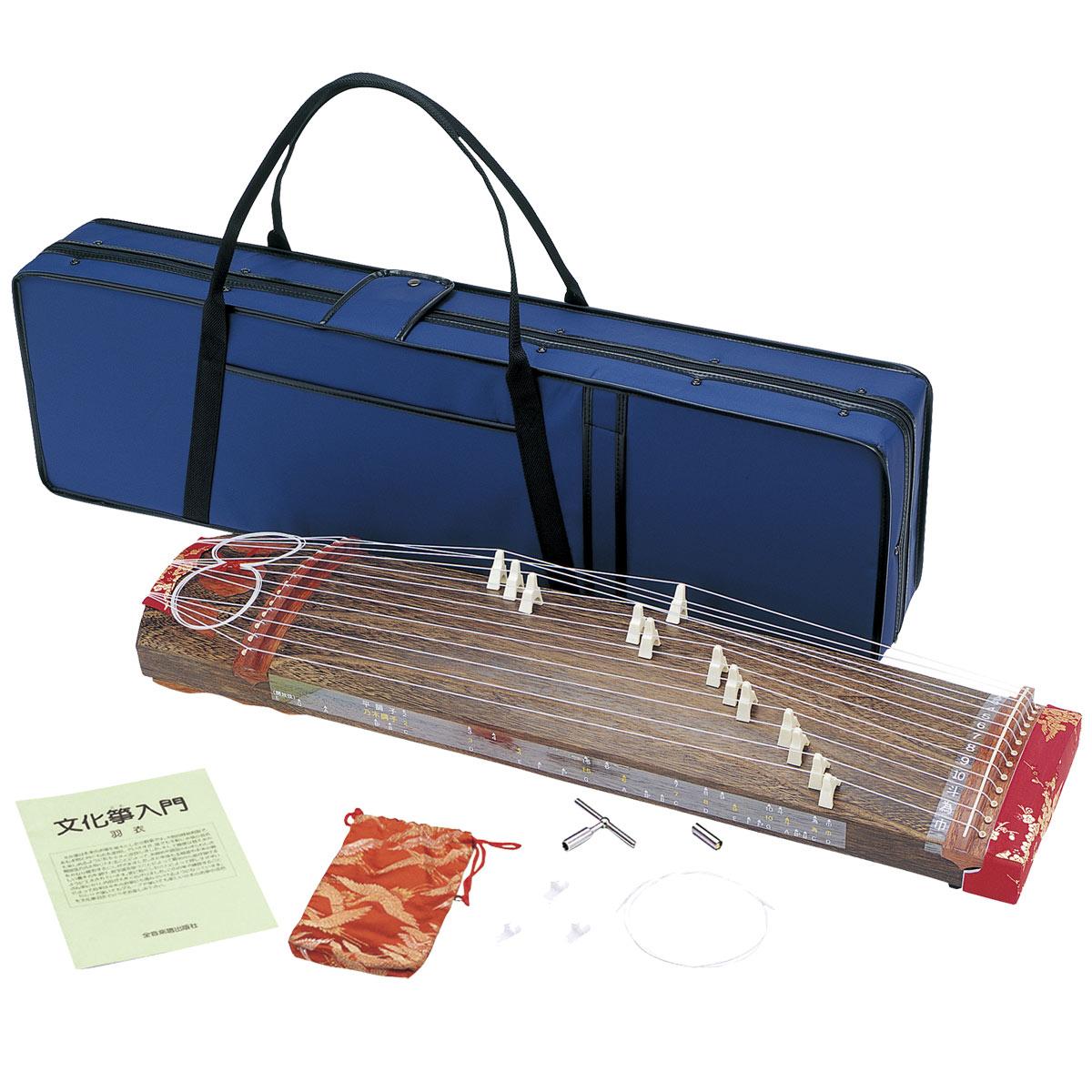 ゼンオン / ZK-02 文化筝 羽衣 ハードケースセット 和楽器 【お取り寄せ】