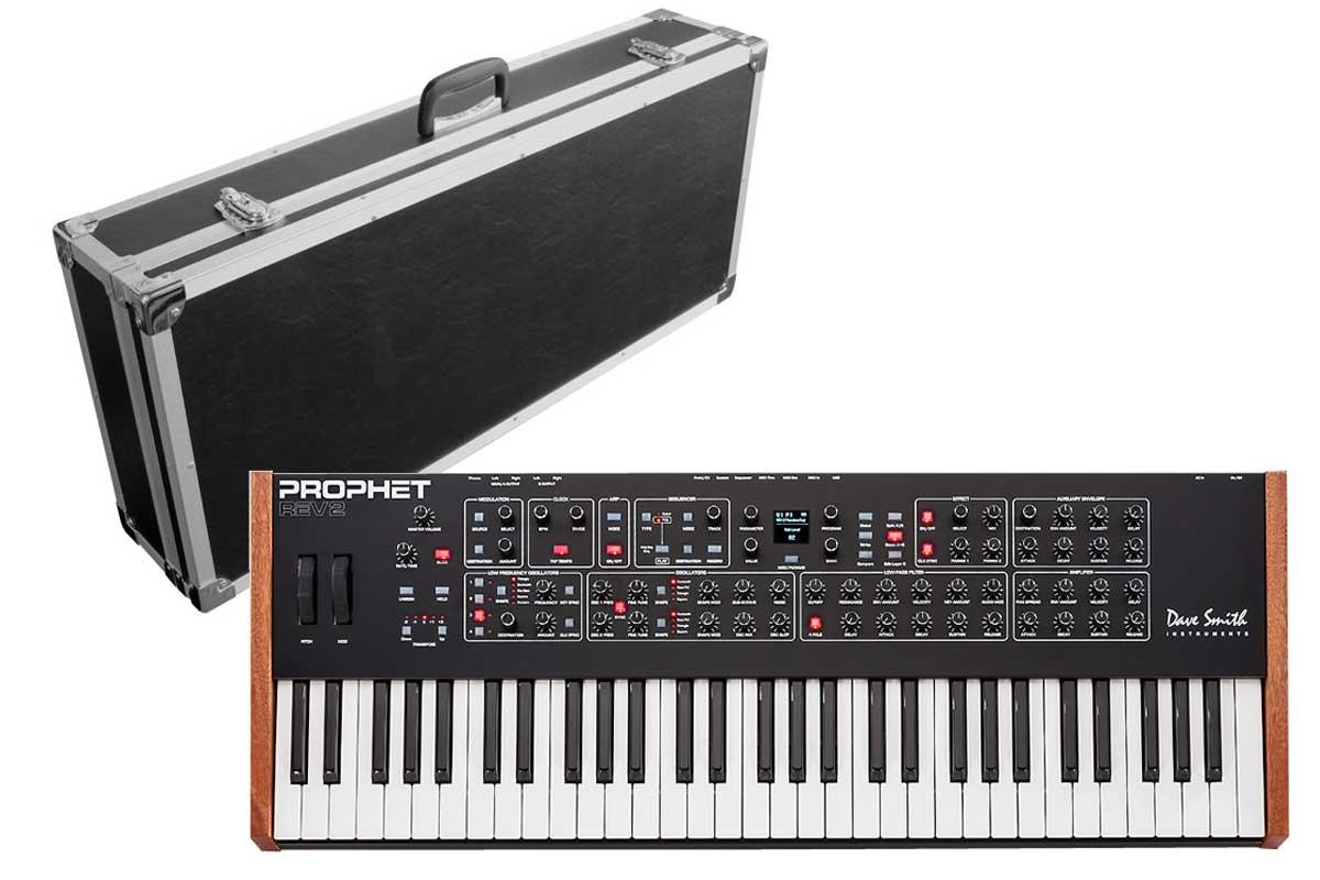Dave Smith Instruments デイブスミス / Prophet Rev2-8V 【ハードケースセット!】 8ボイス・アナログ・ポリフォニック・シンセサイザー【お取り寄せ商品】