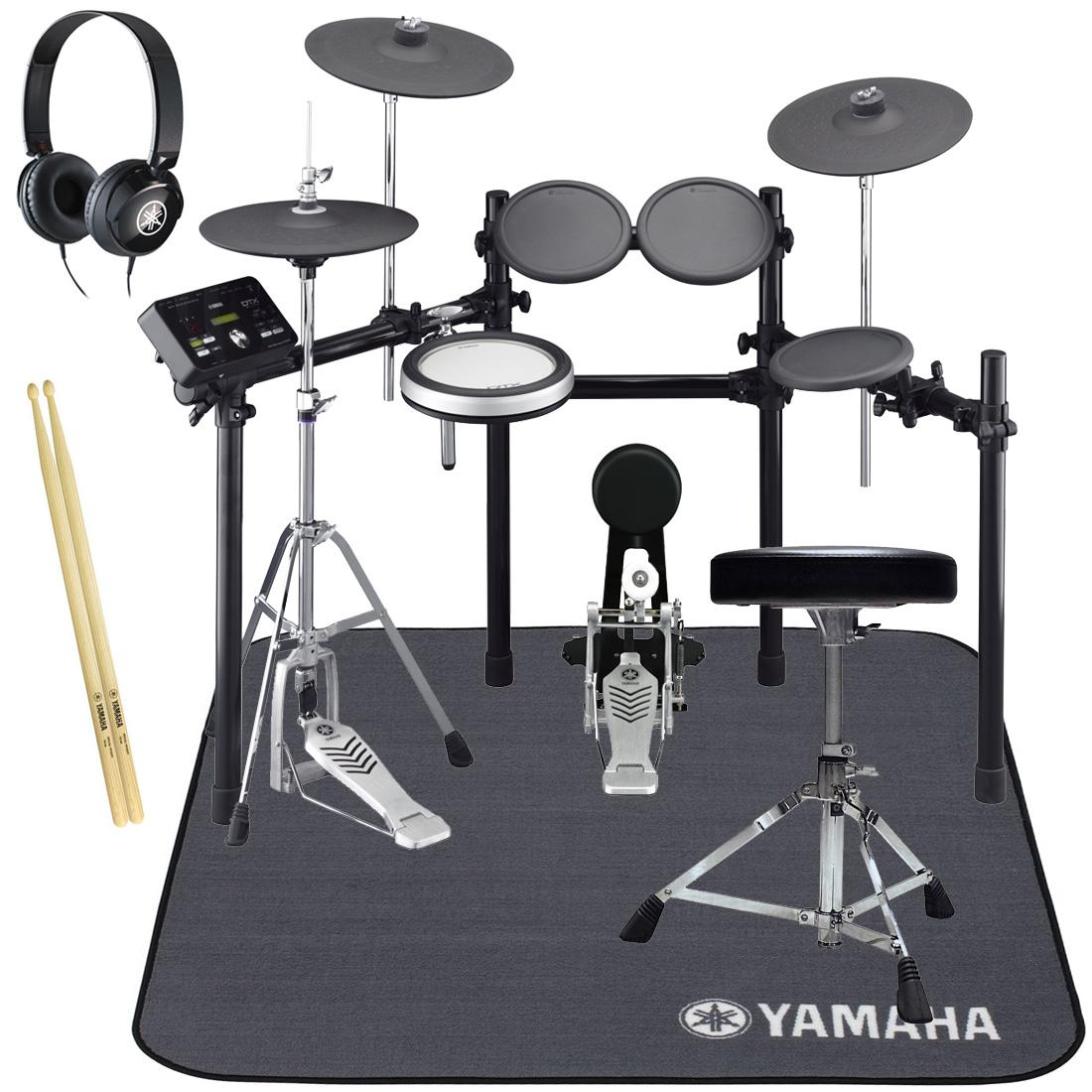 YAMAHA 電子ドラム DTX532KFS オールヤマハ 純正スターターパック/ドラムマットセット【YRK】