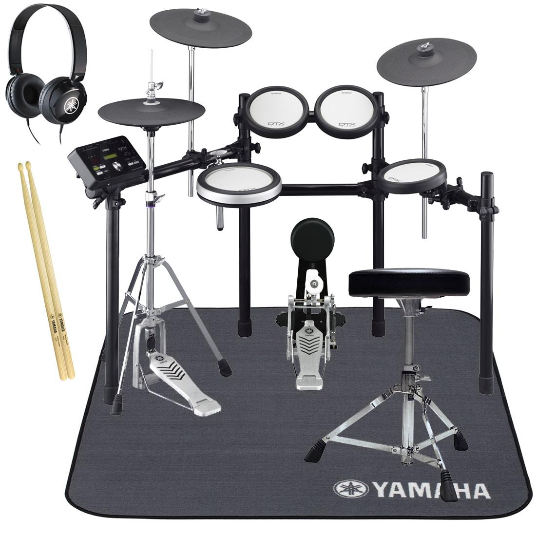 YAMAHA 電子ドラム DTX562KFS オールヤマハ 純正スターターパック/ドラムマットセット【YRK】