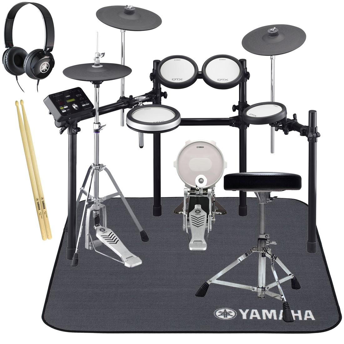 YAMAHA 電子ドラム DTX582KFS オールヤマハ 純正スターターパック/ドラムマットセット【YRK】