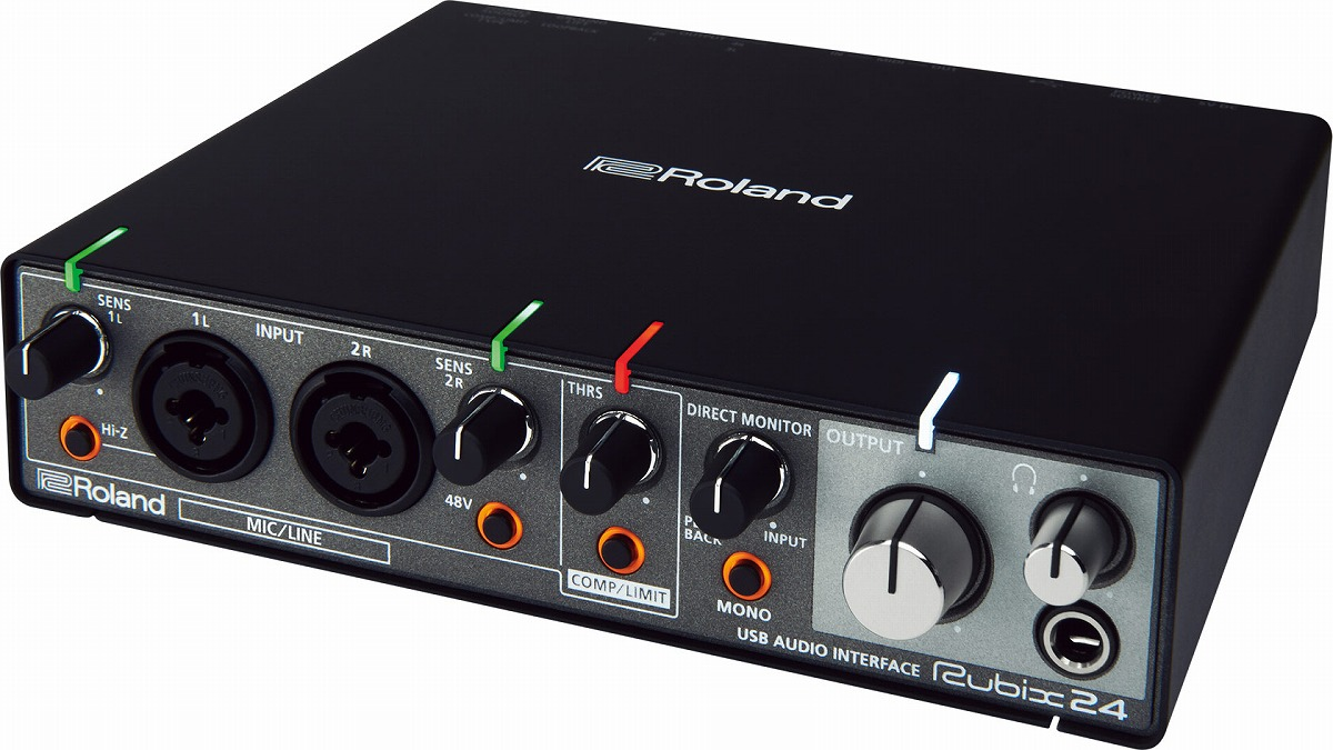 Roland ローランド / Rubix24 USBオーディオ・インターフェース【YRK】