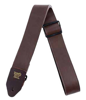 Ernie Ball / #4135 2 Tri-Glide Italian Leather Straps Brown アーニーボール ギターストラップ