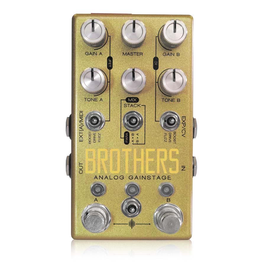 Chase Bliss Audio / Brothers オーバードライブ ブースター ファズ