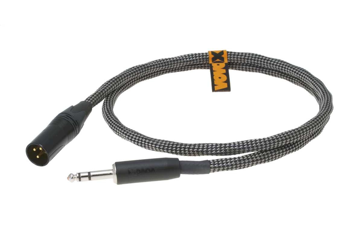 VOVOX ヴォヴォックス / sonorus direct S 100cm TRS - XLR(M)【6.3313】ノンシールド・ケーブル【お取り寄せ商品】