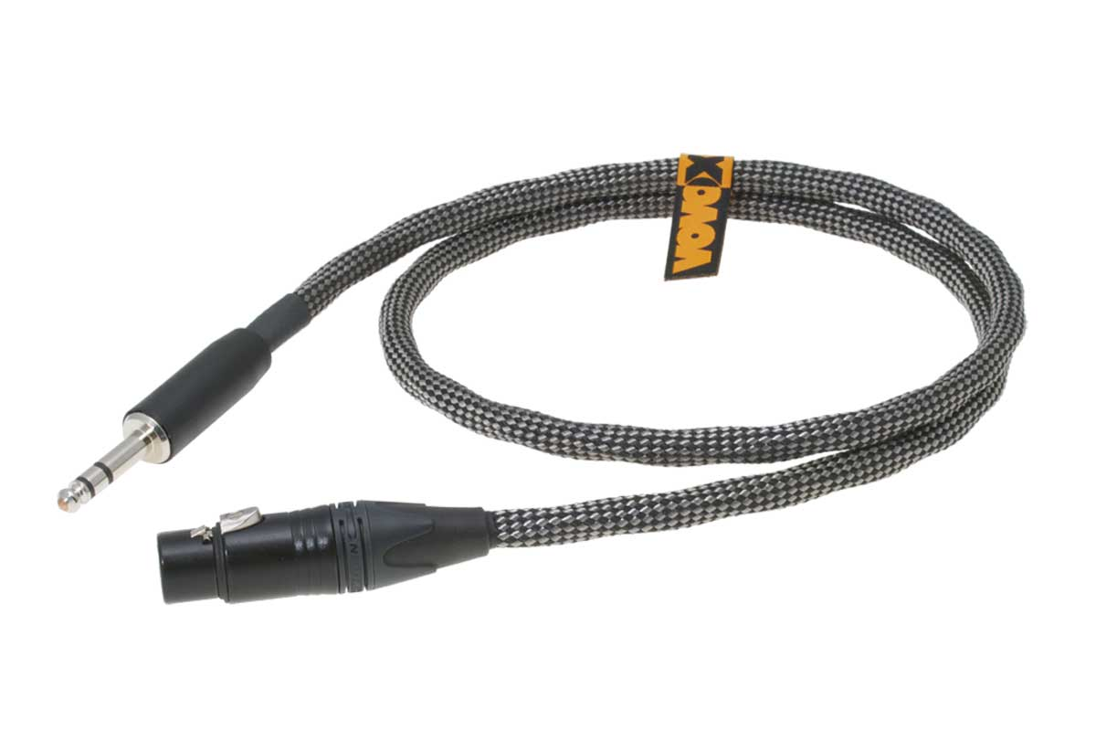 VOVOX ヴォヴォックス / sonorus direct S 200cm XLR(F) - TRS【6.3316】ノンシールド・ケーブル【お取り寄せ商品】