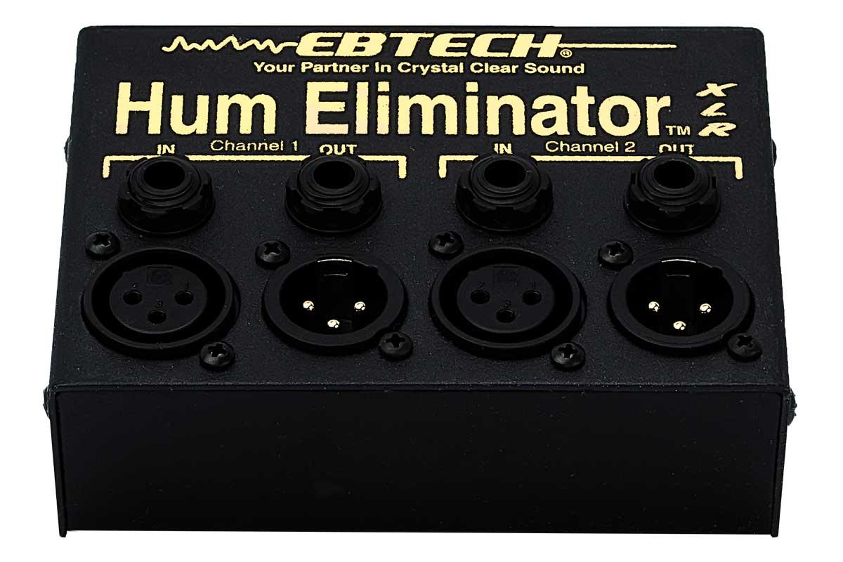 Ebtech Audio エブテックオーディオ / HUM ELIMINATOR HE-2-XLR (2チャンネル・1/4インチジャック(TS/TRS)・XLRジャック搭載・ボックスタイプ)【お取り寄せ商品】