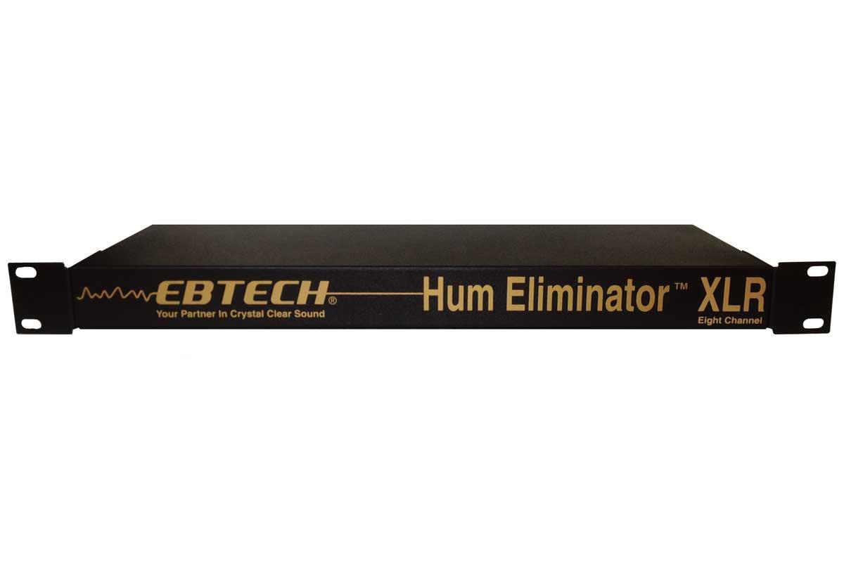 Ebtech Audio エブテックオーディオ / HUM ELIMINATOR HE-8-XLR (8チャンネル・XLRジャック搭載・1Uラックマウントタイプ)【お取り寄せ商品】