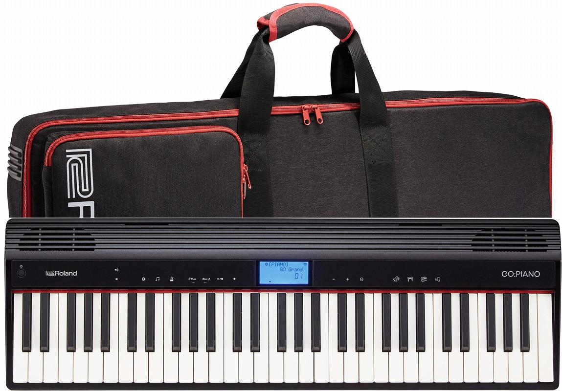 Roland ローランド / GO-61P GO:PIANO【ケースセット!】エントリー・キーボード【YRK】