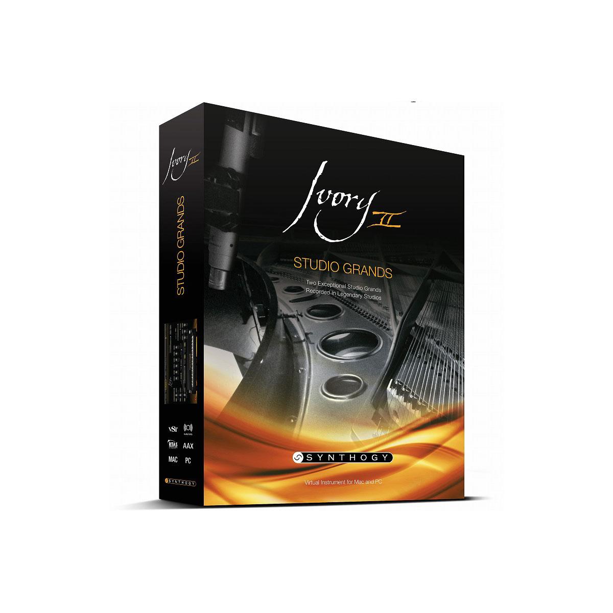 SYNTHOGY シンソジー / Ivory II Studio Grands スタジオグランド(USBインストーラー入りボックス版)【お取り寄せ商品】