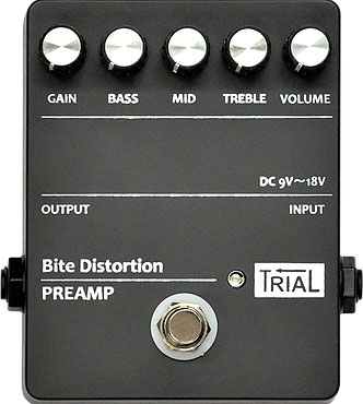 TRIAL / Bite Distortion PREAMP トライアル ディストーション プリアンプ 【お取り寄せ商品】