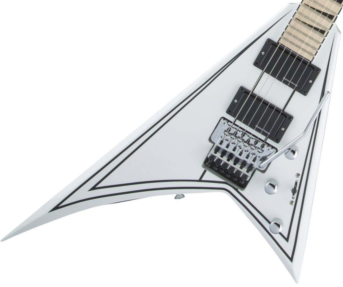 Jackson / X Series Rhoads RRX24M Snow White with Black Pinstripes ジャクソン【お取り寄せ商品】