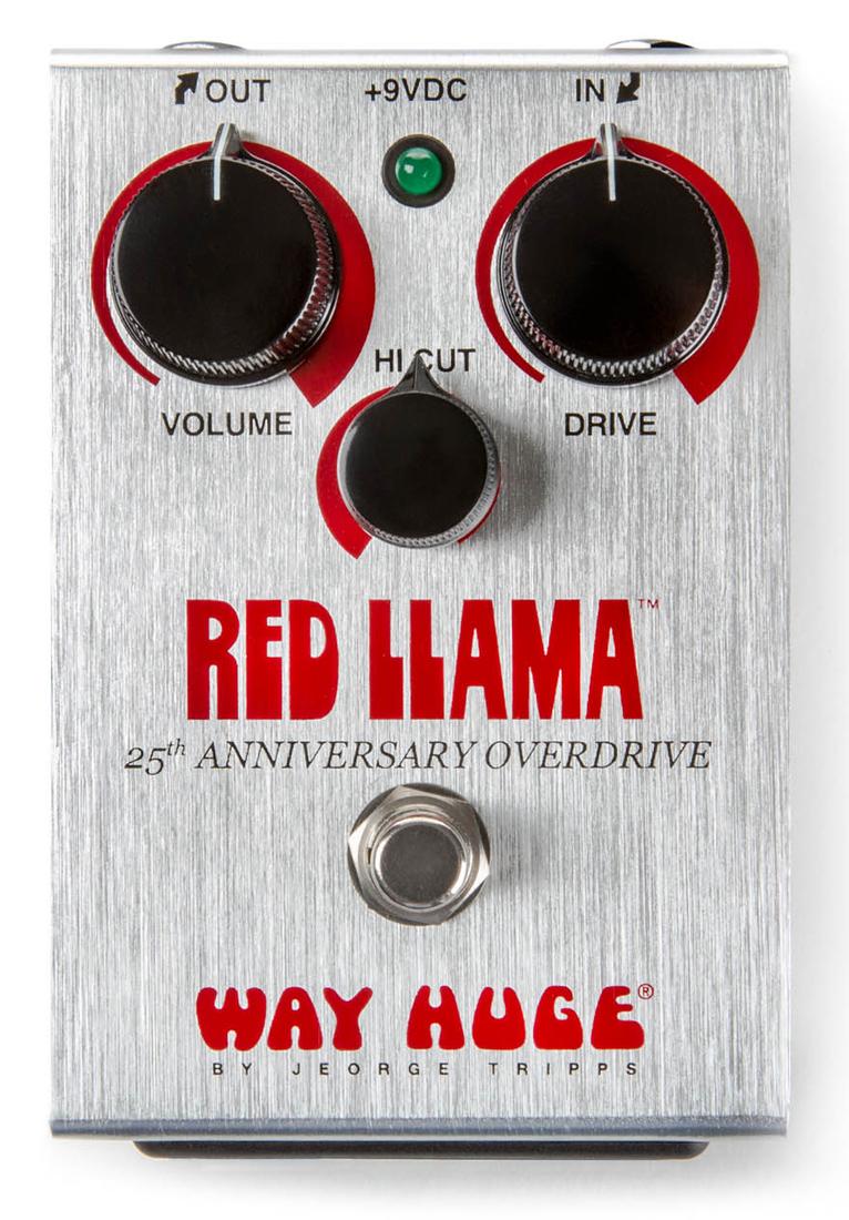 【タイムセール:7月2日12時まで】WAY HUGE / WHE206 RED LLAMA 25th Anniversary Overdirve [オーバードライブ/限定生産]【国内正規品】