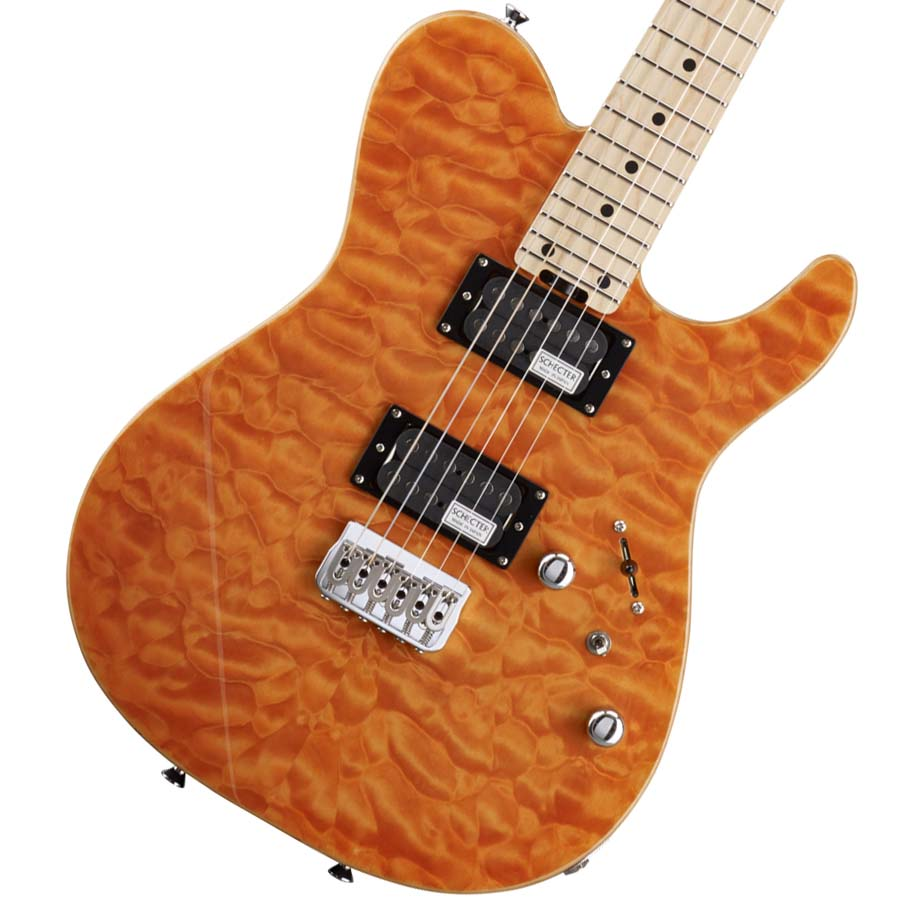 Schecter / KR-24-2H-FXD-M Amber (AMB) エレキギター 【お取り寄せ商品/納期別途ご案内】