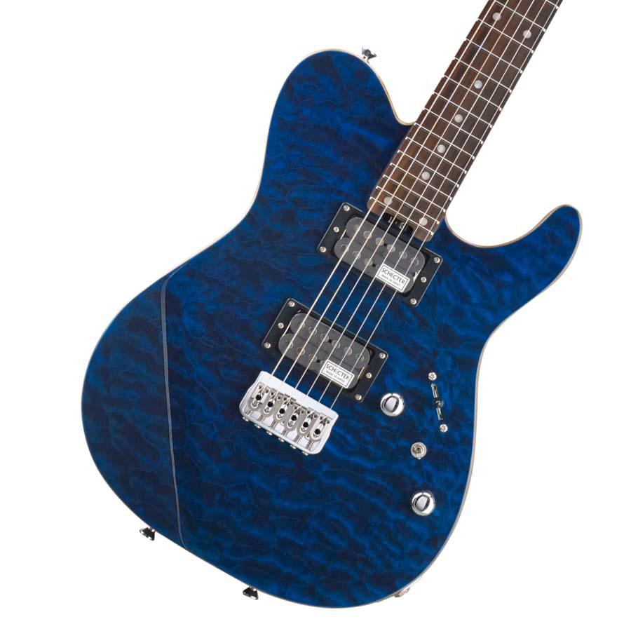 Schecter / KR-24-2H-FXD-R See-thru Blue (BLU) エレキギター 【お取り寄せ商品】