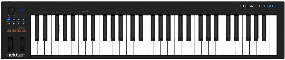 NEKTAR TECHNOLOGY ネクターテクノロジー / IMPACTGX61 USB/MIDIキーボード【お取り寄せ商品】