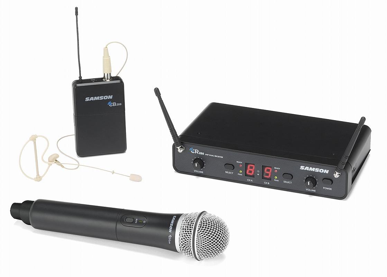 SAMSON サムソン / Concert 288 Pro Combo デュアル・ワイヤレス・システム【お取り寄せ商品】
