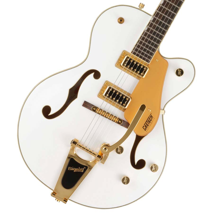 GRETSCH / Electromatic G5420TG-FSR Hollow Body Single-Cut with Bigsby White 【お取り寄せ商品】