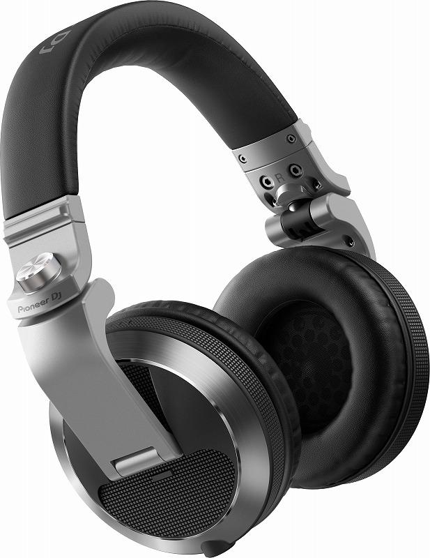 PIONEER パイオニア / HDJ-X7-S シルバー DJヘッドホン【お取り寄せ商品】【PNG】