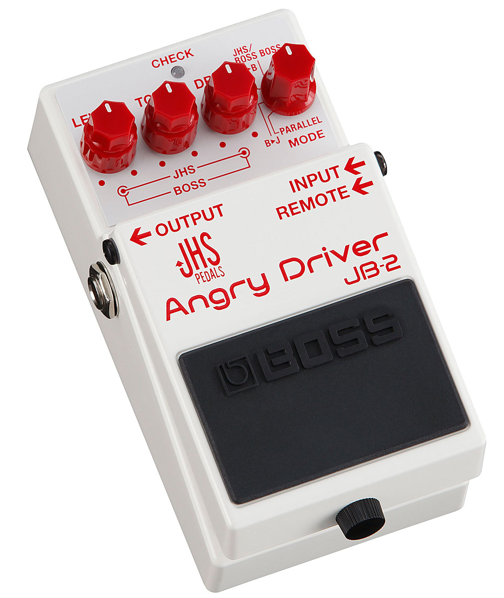 BOSS / JB-2 Angry Driver ボス オーバードライブ ディストーション【YRK】《9Vマンガン電池2個プレゼント!/+681215700×2》