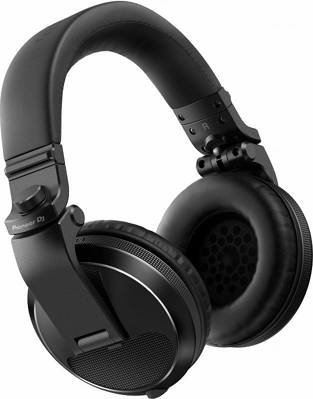 【在庫あり】PIONEER パイオニア / HDJ-X5-K ブラック DJヘッドホン