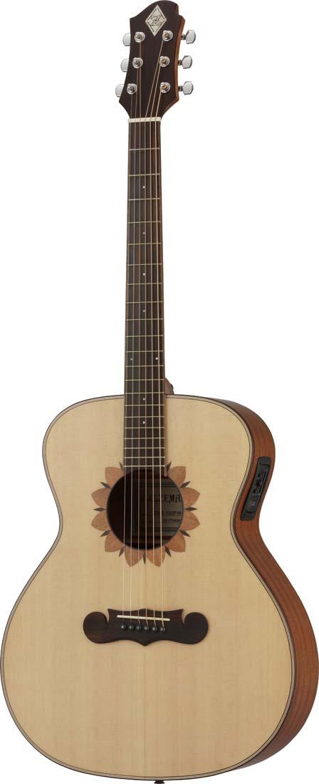 ZEMAITIS / CAG-100FW-E-LH エレクトリックアコースティックギター[レフトハンド]【お取り寄せ商品】《プレゼントあり!/+set79094》