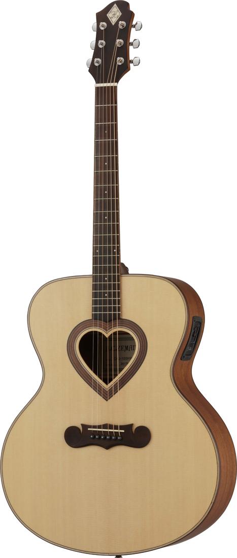 ZEMAITIS / CAJ-100HW-E-LH エレクトリックアコースティックギター[レフトハンド]【お取り寄せ商品】《プレゼントあり!/+set79094》