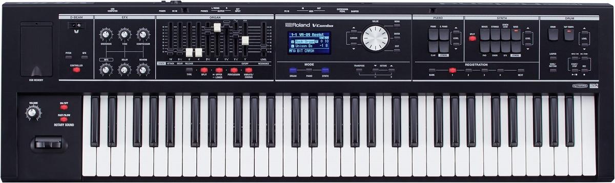 【在庫あり】Roland ローランド / V-Combo VR-09B 61鍵ライブキーボード【YRK】