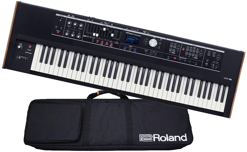 【在庫あり】Roland ローランド / V-Combo VR-730 73鍵ライブキーボード《背負えるキャリングケースプレゼント:811160800》【YRK】