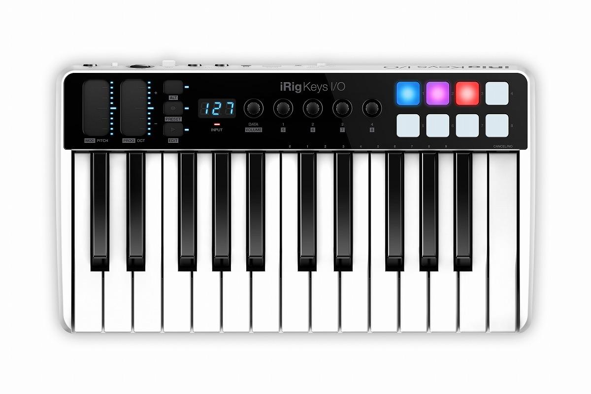 IK MULTIMEDIA アイケーマルチメディア / IRIGKEYS I/O25 MIDIキーボード