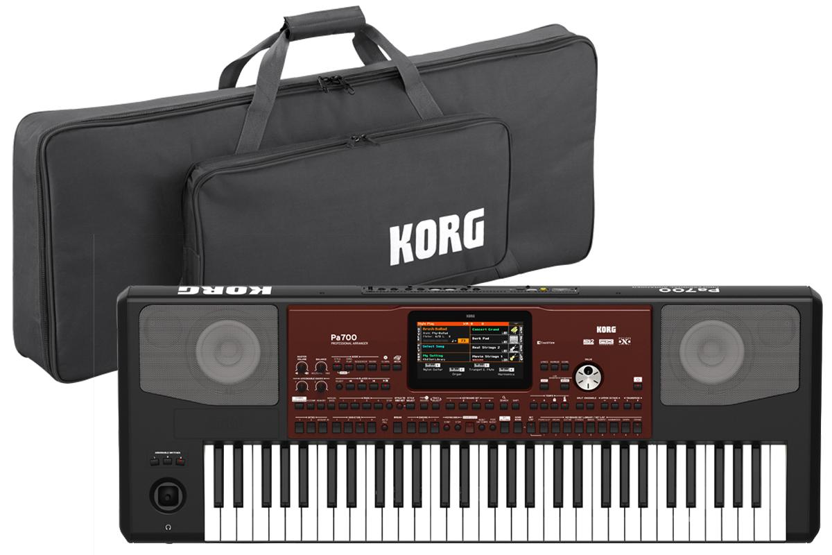 KORG コルグ / Pa700 アレンジャーキーボード【ケースセット!】【YRK】