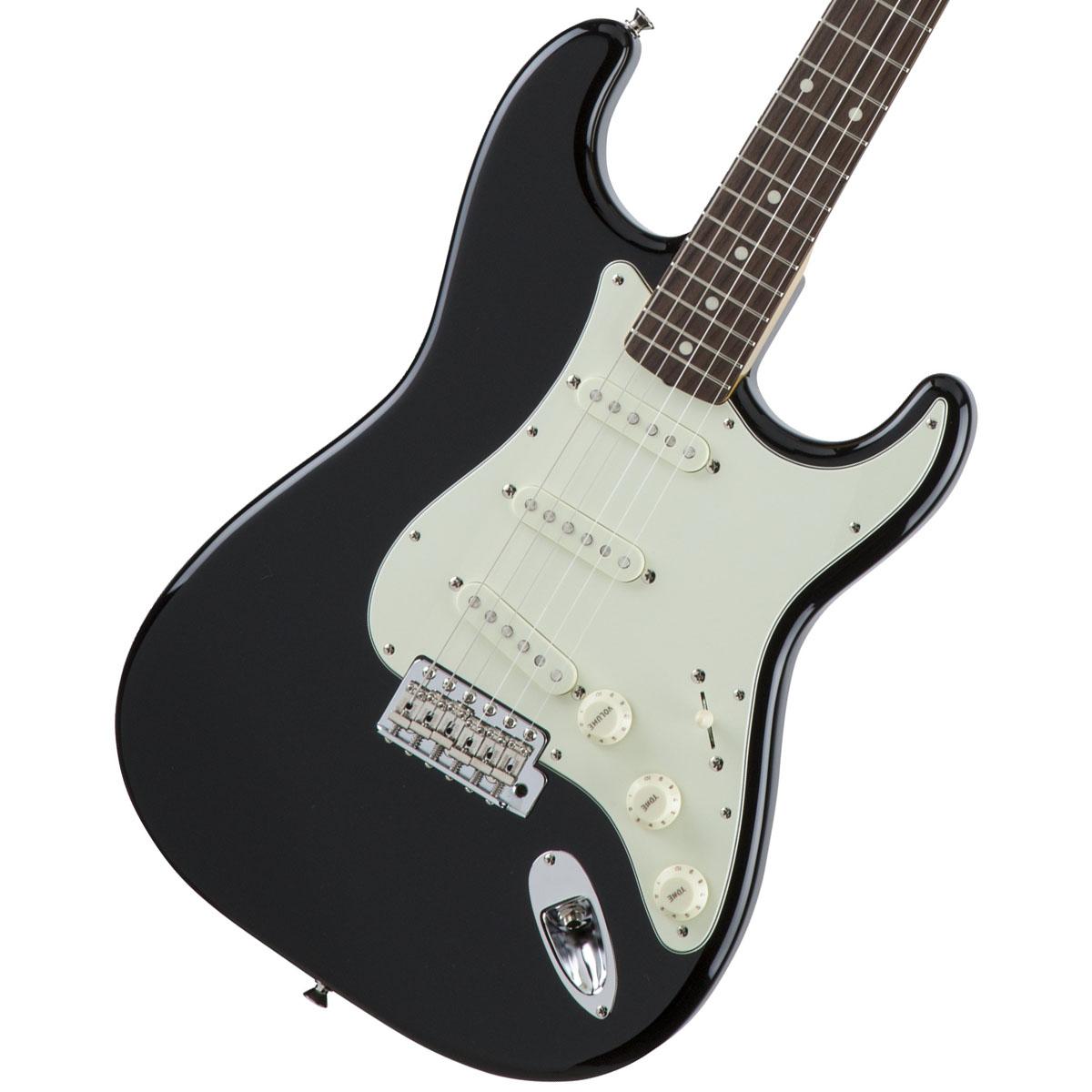 Fender / Made in Japan Traditional 60s Stratocaster Rosewood Fingerboard Black《カスタムショップのお手入れ用品を進呈/+671038200》