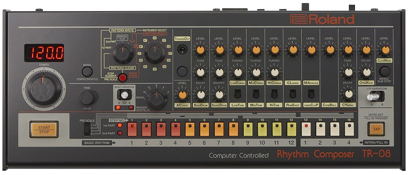 【在庫あり】Roland ローランド / Boutique TR-08 Rhythm Composer ブティーク リズムマシン【YRK】