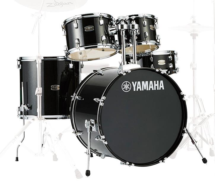 YAMAHA / RDP2F5 BLGブラックグリッター ヤマハ ライディーン 22BD ドラム シェルセット【YRK】