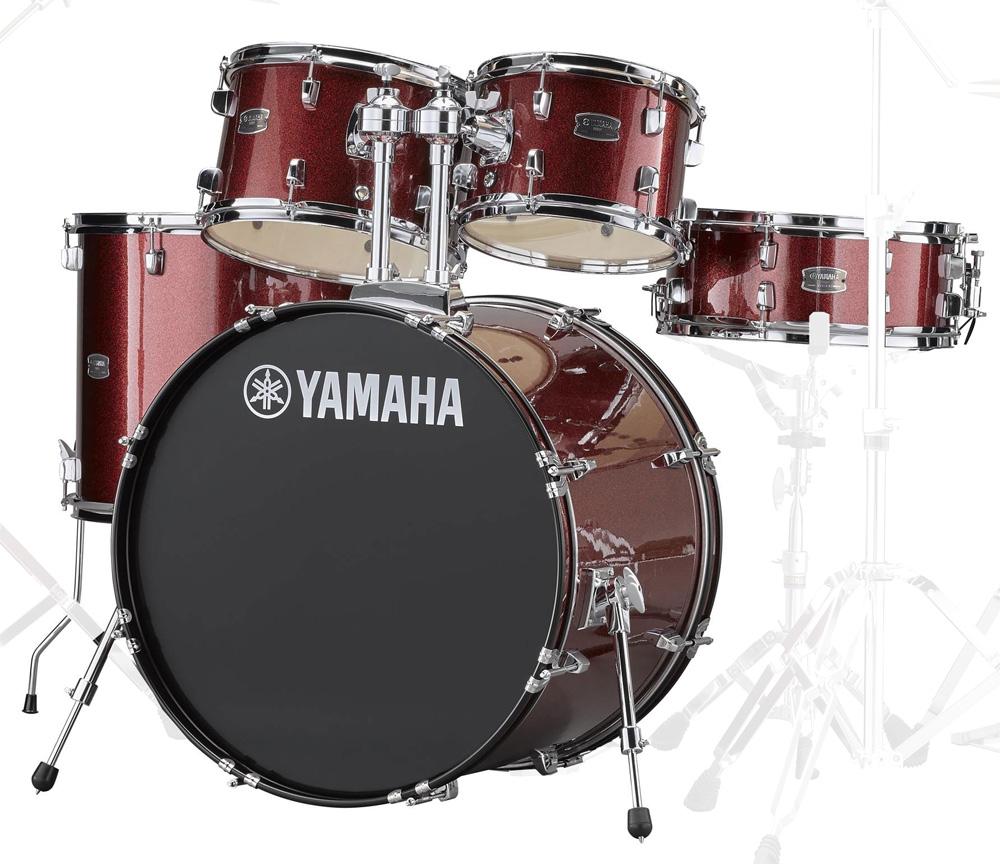 YAMAHA / RDP2F5 BGGバーガンディーグリッター ヤマハ ライディーン 22BD ドラム シェルセット【YRK】