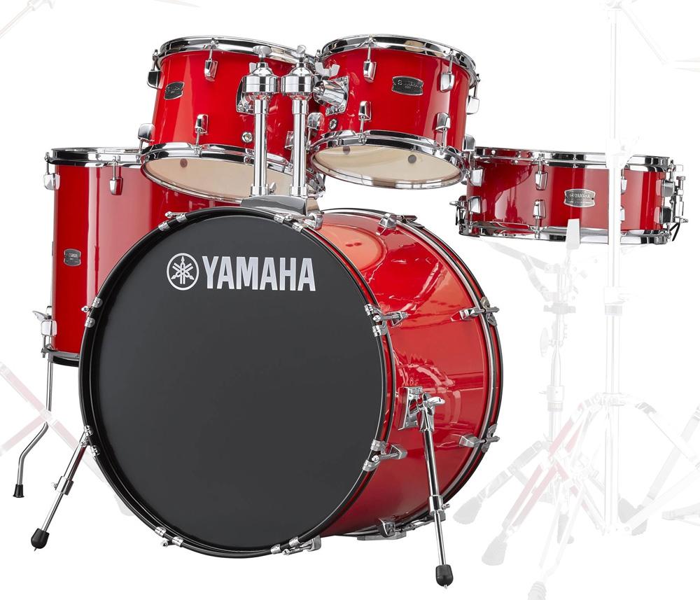 YAMAHA / RDP2F5 RDホットレッド ヤマハ ライディーン 22BD ドラム シェルセット【YRK】
