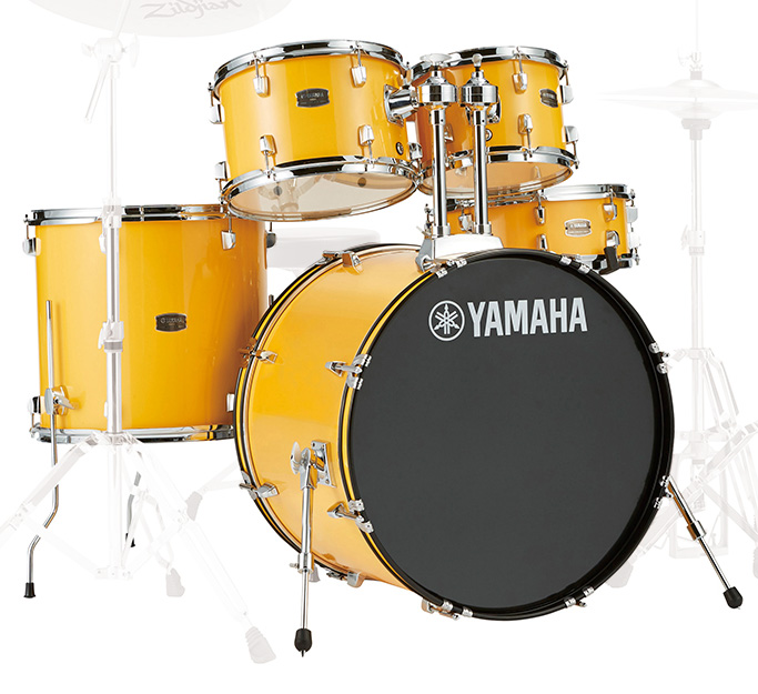 YAMAHA / RDP2F5 YLメローイエロー ヤマハ ライディーン 22BD ドラム シェルセット【YRK】