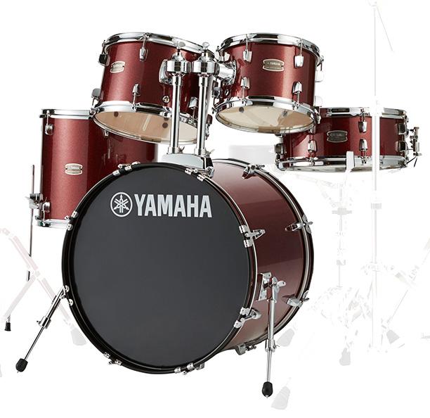 YAMAHA / RDP0F5 BGGバーガンディグリッター ヤマハ ライディーン 20BD ドラム シェルセット【YRK】