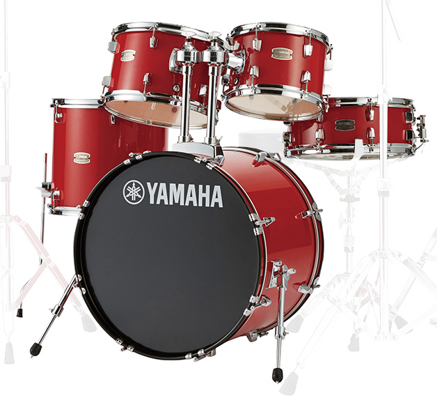 YAMAHA / RDP0F5 RDホットレッド ヤマハ ライディーン 20BD ドラム シェルセット【YRK】