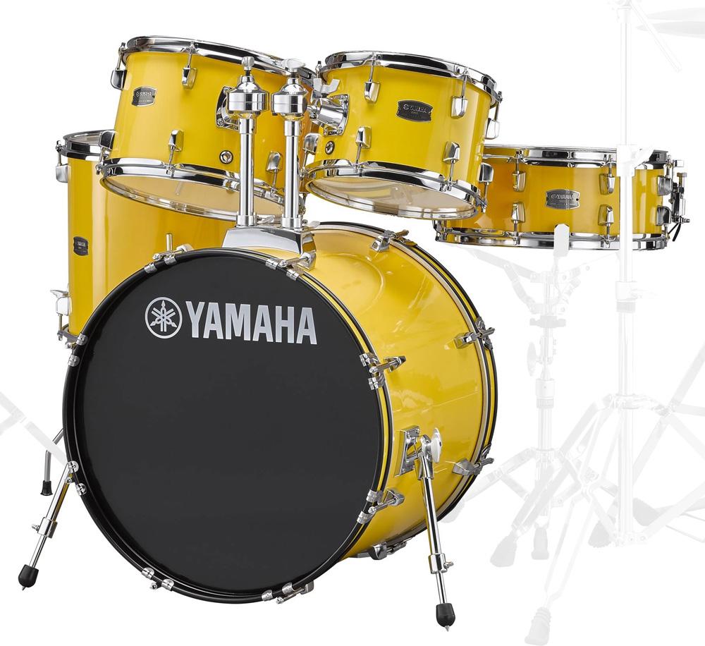 YAMAHA / RDP0F5 YLメローイエロー ヤマハ ライディーン 20BD ドラム シェルセット【YRK】