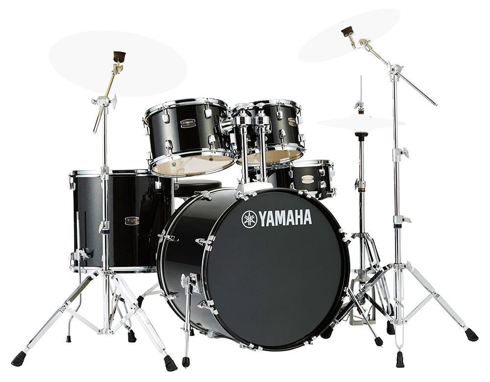 YAMAHA / RDP2F5 BLGブラックグリッター ライディーン 22BD ドラムシェルとハードウェアセット / シンバル別売【YRK】