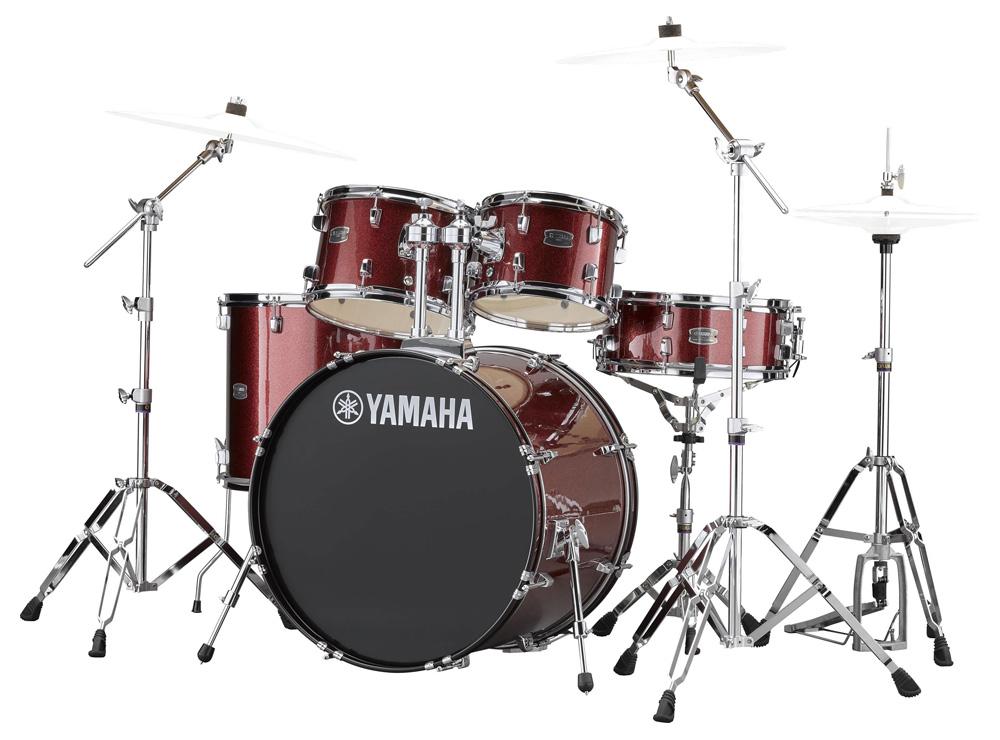 YAMAHA / RDP2F5 BGGバーガンディグリッター ライディーン 22BD ドラムシェルとハードウェアセット / シンバル別売【YRK】
